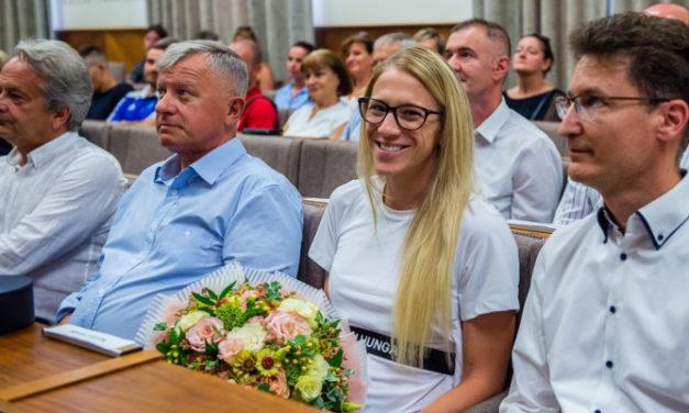 Az olimpia fehérvári hősét ünnepelték