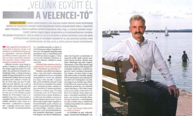 """""""Velünk együtt él a Velencei-tó"""""""
