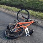 Ittasan biciklizett, balesetet okozott