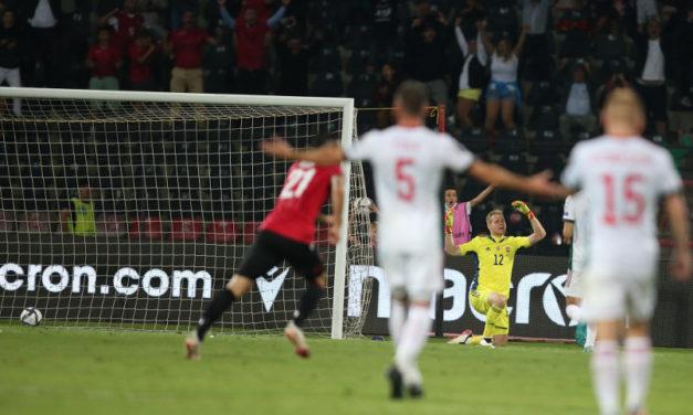 Albánia is rágós falatnak bizonyult